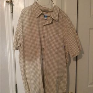 Columbia short sleeve button up
